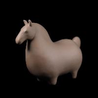 Dessin Horse Solide (Marron)