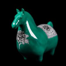 Dessin Horse Modele (Verte)