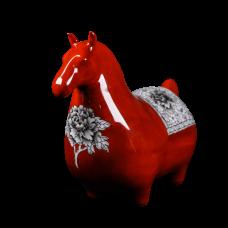 Dessin Horse Modele (Rouge)