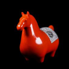 Dessin Horse Modele (Orange)