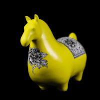 Dessin Horse Modele (Jaune)