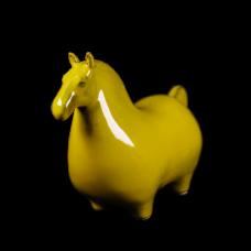 Dessin Horse Solide (Jaune)